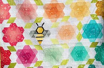 Krista Moser Bumblebee Quilt crop